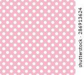 polka dot pattern  seamless... | Shutterstock .eps vector #286913624