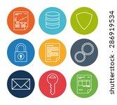 data design over white... | Shutterstock .eps vector #286919534