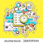 vector color illustration of... | Shutterstock .eps vector #286939544