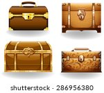 set of four different styles of ... | Shutterstock .eps vector #286956380