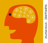 positive thinking   Shutterstock .eps vector #286956896