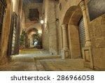 stone old city jaffa in tel aviv   Shutterstock . vector #286966058