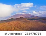 mountains in tenerife island  ... | Shutterstock . vector #286978796