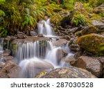 Rainforest Waterfall Long...