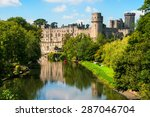 warwick castle from outside. it ...