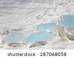 The Pamukkale Natural Lakes In...
