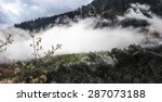 beautiful view of mountain in... | Shutterstock . vector #287073188