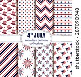 happy independence day  4th of... | Shutterstock .eps vector #287090948