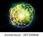 orbits of destiny series.... | Shutterstock . vector #287100848