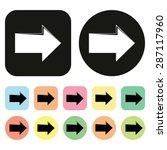 right arrow icon. arrow icon....