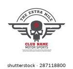 motor logo graphic design. logo ...   Shutterstock .eps vector #287118800