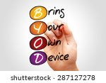 bring your own device  byod  ... | Shutterstock . vector #287127278