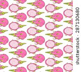 vector pattern  seamless... | Shutterstock .eps vector #287130680