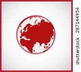 world map   Shutterstock . vector #287144954