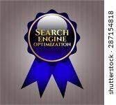 search engine optimization blue ... | Shutterstock .eps vector #287154818