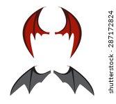 Set Of Bat Wings Or Vampire ...