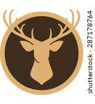 deer | Shutterstock .eps vector #287178764