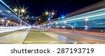light trail motion blur of... | Shutterstock . vector #287193719