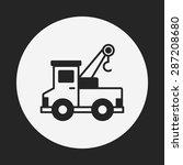 truck icon | Shutterstock .eps vector #287208680