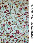 pattern of small flowers in the ... | Shutterstock . vector #287209976