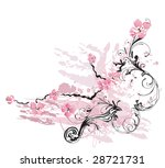 illustration of a decorative... | Shutterstock .eps vector #28721731
