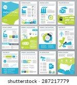 big set of infographics... | Shutterstock .eps vector #287217779