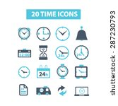 20 time  clock icons  signs ...