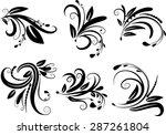 calligraphic decorative...