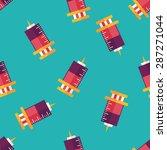 syringe flat icon eps10... | Shutterstock .eps vector #287271044