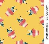 ice bottle flat icon eps10... | Shutterstock .eps vector #287290094