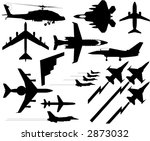 Air Force - stock vector