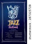 jazz festival   live music ... | Shutterstock .eps vector #287325728