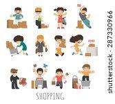 shopping    eps10 vector format | Shutterstock .eps vector #287330966