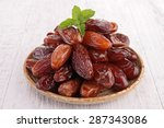 dried date | Shutterstock . vector #287343086