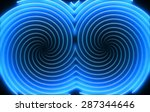 Abstract Hypnotic Background...