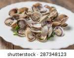 Clams In Wine Sauce Garlic And...