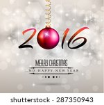 2016 new year and happy... | Shutterstock . vector #287350943