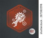 maintenance stamp design on old ...