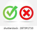 check mark | Shutterstock . vector #287391710