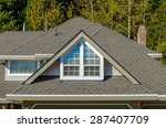 the roof of the house with nice ... | Shutterstock . vector #287407709