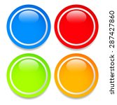 empty colorful circle shape ... | Shutterstock .eps vector #287427860