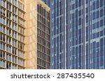office building facade pattern | Shutterstock . vector #287435540
