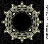 Vector Ornamental Round Lace...