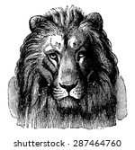 Lion Head Of Sennar  Front Vie...