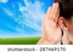 Listen  Ear  Hear.
