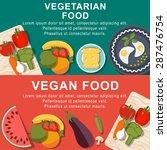 flat vegetarian and vegan foods