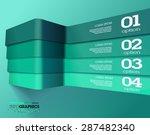 modern 3d green info graphics....
