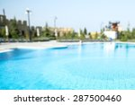 hotel  swimming pool  apartment. | Shutterstock . vector #287500460