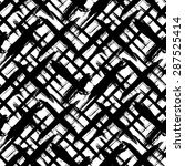 vector seamless bold plaid... | Shutterstock .eps vector #287525414