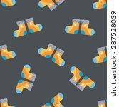 baby stocking flat icon eps10...